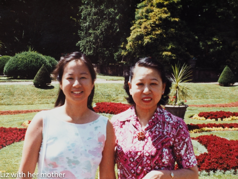 Photo of Elizabeth OuYang and her mom, who passed away from breast cancer at age 62 Photo Credit Elizabeth OuYang